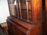 Antique Victorian Mahogany Glazed Bookcase