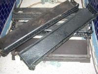 Cast Iron Antique Fireplace Fenders