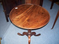 Georgian Dish Tilt - Top  Antique Table