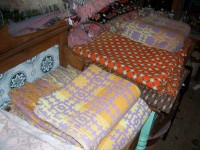 Antique Welsh Tapestry Blankets