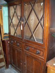 Anglesey North Wales Glazed Kitchen Cupboard