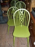 Painted Windsor Kitchen Chairs