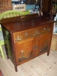 Vintage Mahogany Side Cupboard