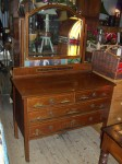 Vintage Mahogany Bedroom Suite
