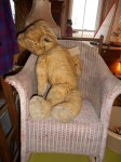 1930s Straw-filled Growler Teddy Bear