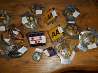 Various AA and Car Badges