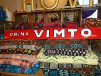 vimto enamel sign
