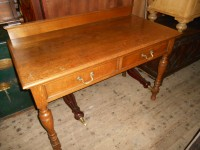 Victorian Oak Table / Desk