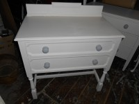 Vintage Shabby Chic Bedside Chest of Drawers