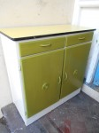 Retro Shabby Chic Kitchen Cupboard