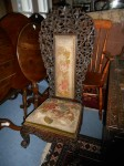 Victorian Burmese Nursing Chair