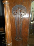 Antique Art Nouveau Oak Sideboard