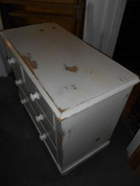 Antique Victorian Shabby Chic Chest of Drawers