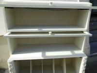 Vintage Wernicke Shabby Chic Shop Display Cabinet