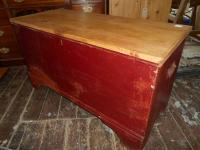 Antique Georgian Pine Blanket Box