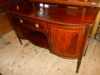 Antique Victorian Side Board / Serving Table