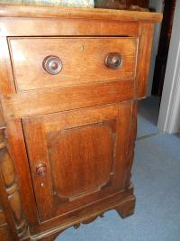 Antique Anglesey North Wales Break Front Oak Dresser