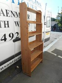 Large Contemporary Pine Bookshelf