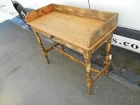 Antique Victorian Shabby Chic Pine Washtand