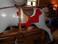 "Vintage ""Lines Bros Triang"" Rocking Horse"