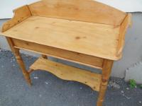 Antique Victorian Pine Washstand