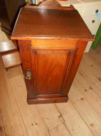 Mahogany Bedside Table