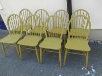 Set of 8 Ercol Chairs