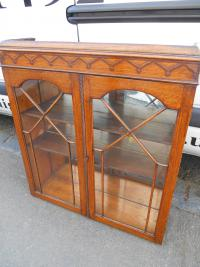 Vintage Bookcase Top