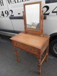 Limed Oak Dressing Table
