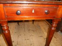 Antique Victorian Mahogany Penbrook Table