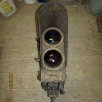 Vintage Railway 1920 Electric Light Signals  (pair)