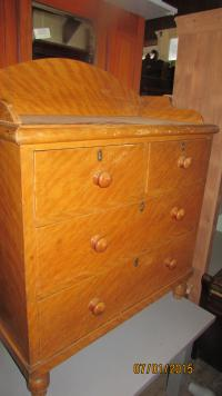 Victorian Scumbled Pine Chest of Drawers
