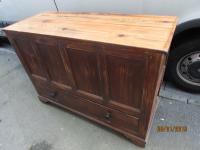Antique Pine Shabby Chic Mule Chest