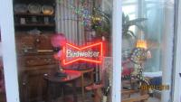 Budweiser Neon Display Sign