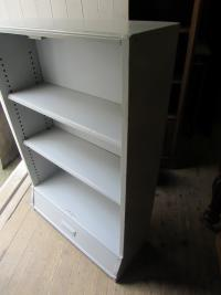 Vintage Painted Oak Bookshelves