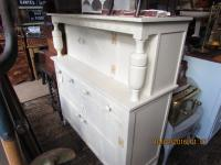 Shabby Chic Court Cupboard