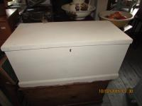 Painted Pine Chest Bedding Box