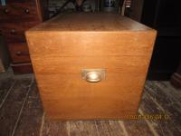 Mahogany Bedding Chest
