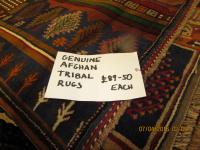 Genuine Afghan Tribal Rugs
