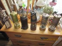 Collection Of Miners Lamps