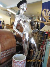 Silver Male Mannequin