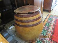 Large Pottery Barrel