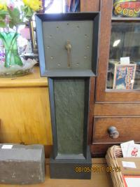 Miniature Slate Grandfather Clock