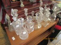 Glass Decanters.