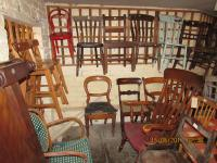 CHAIRS  IN  BASEMENT