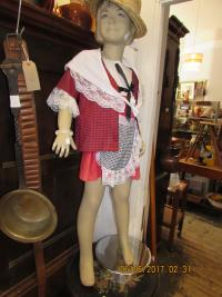 WELSH  COSTUME  CHILD  DUMMY