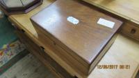 MAHOGANY   JEWELLERY BOX