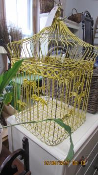 DECORATIVE  HANGING  CAGE