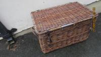 VERY LARGE LINEN BASKET
