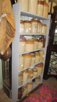 VERY LARGE CHOICE OF STONEWARE JARS
